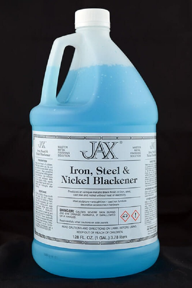 Jax Patinas and Darkeners (Gallon, Iron Steel and Nickel Blackener) by McCollum