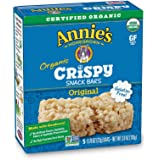 Annie's Homegrown Organic Original Crispy Snack Bars, 5 count