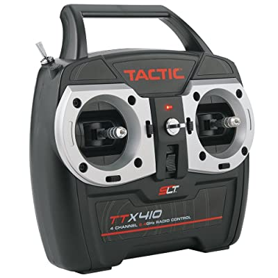 Tactic TTX410 SLT 2.4Ghz 4-Channel RC Air Radio System with Switch Harness: 4CH TX   TR625 6CH Dual RX   No Servos: Toys & Games