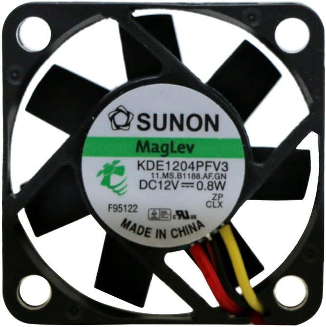 Sunon KDE1204PFV3 4010 40mm x10mm Fan 12V 2Pin 90 warranty #MY12 QL