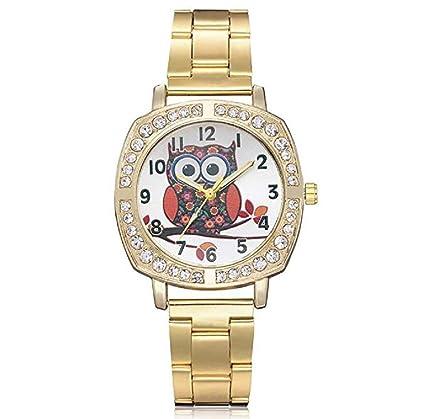 Limpieza de venta! Relojes de mujer, ICHQ Fashion de lujo Rhinestone pulsera de cuarzo