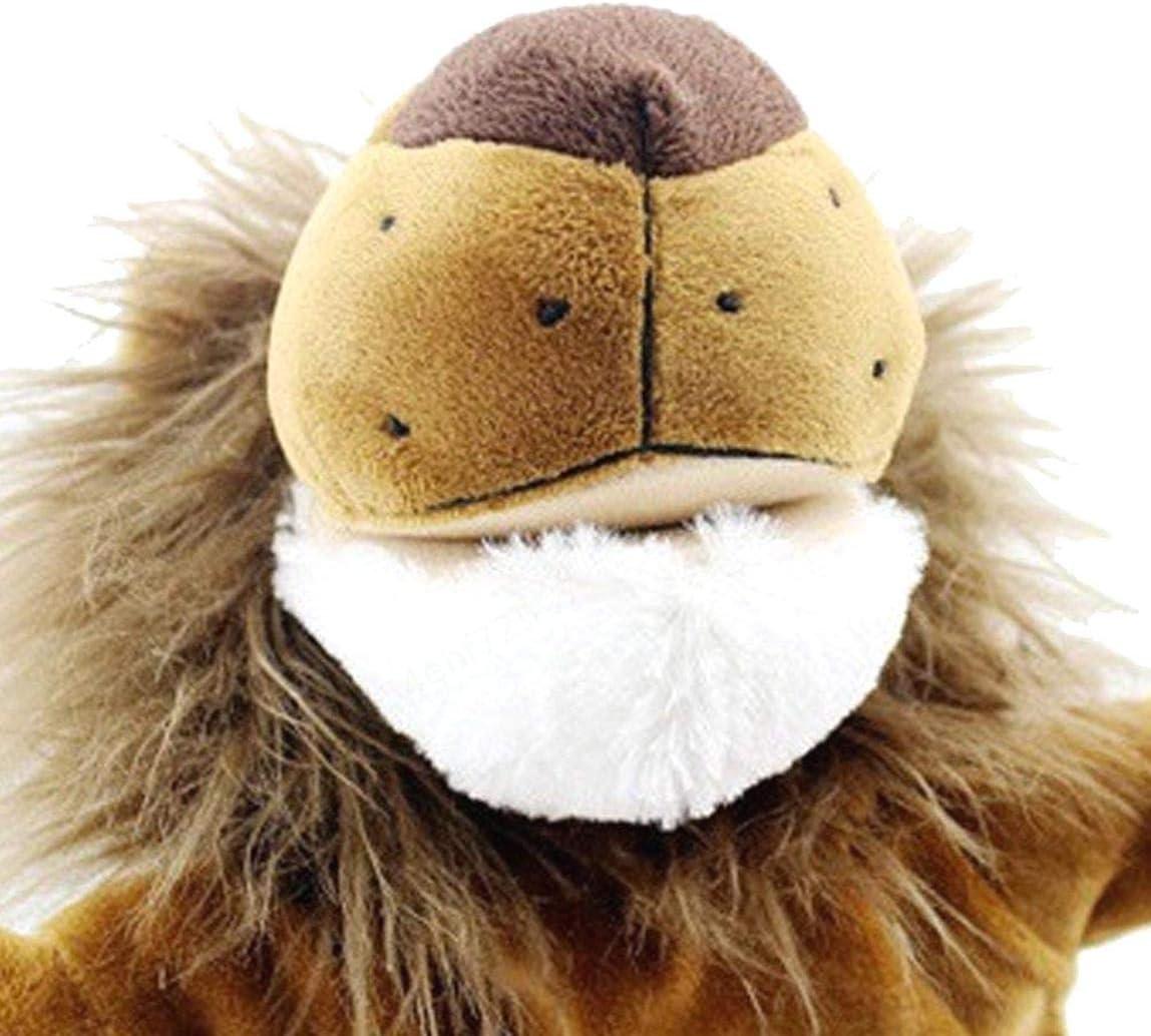 FOTN Navidad Ni/ño Ni/ños Regalo Cuentacuentos Animales de Dibujos Animados Mono Perro Le/ón Peluche de Peluche Marioneta de Mano