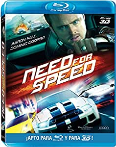 Need For Speed (BD 3D + 2D) [Blu-ray]