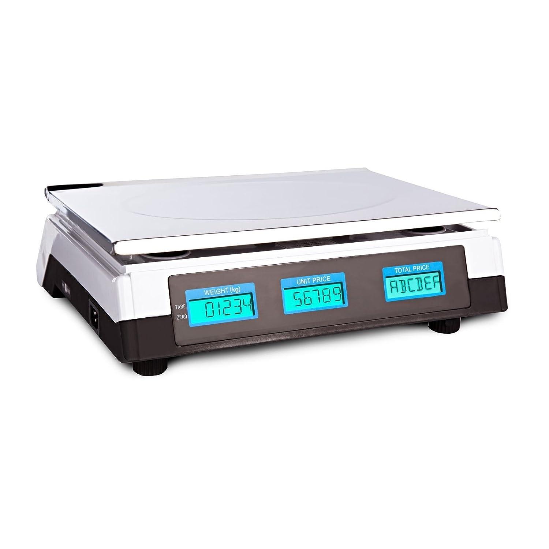 Báscula electrónica digital profesional que mide de 5 gramos (mínimo) a 40 kg (máximo) en intervalos de 5 gramos.: Amazon.es: Industria, empresas y ciencia