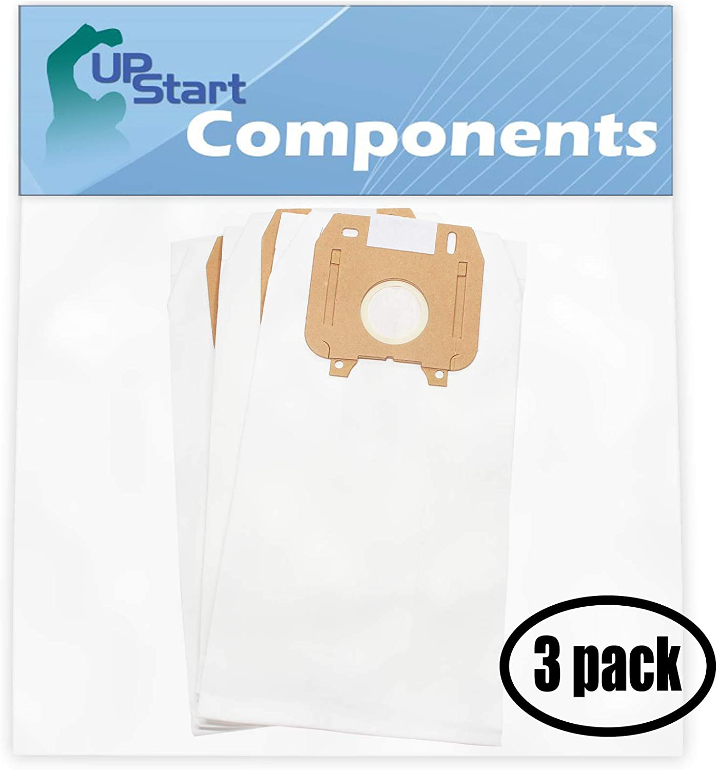 9 Replacement Type LW Vacuum Bags for Oreck Magnesium Vacuum Cleaner - Compatible with Oreck OR-1451, Oreck Magnesium, Oreck Magnesium RS, Oreck LW100, Oreck LW1500RS, Oreck LWPK60H, Oreck Type LW