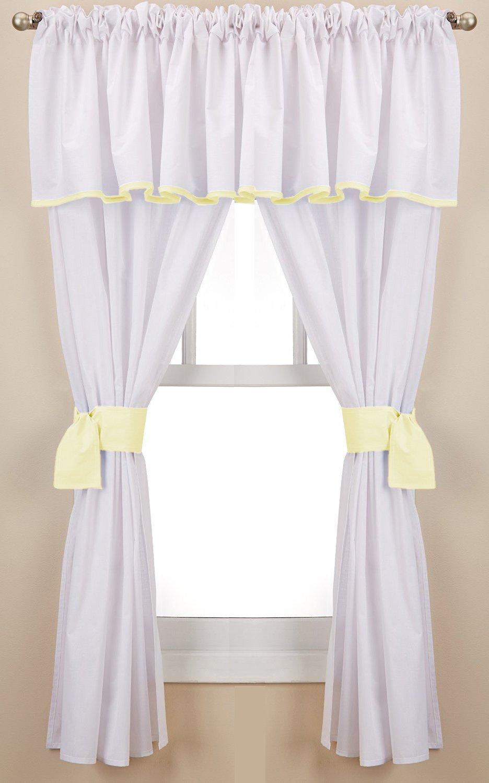 Grey Baby Doll Bedding Forever Mine Junior 5 Piece Window Valance Curtain Set