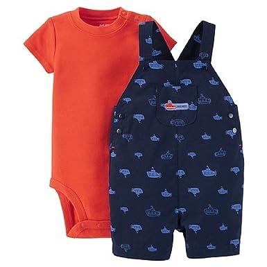 46d117e289be Amazon.com  Carter s Just One You Baby Boys  Submarine Shortall ...