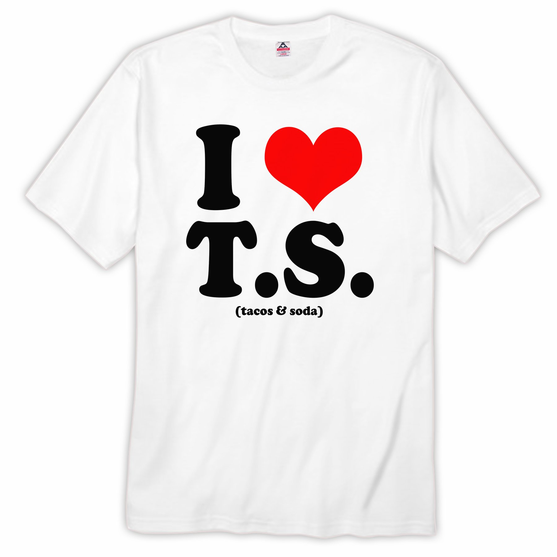 Vice51 Tom Hiddleston I Heart T S Funny T Swift Themed White Shirts