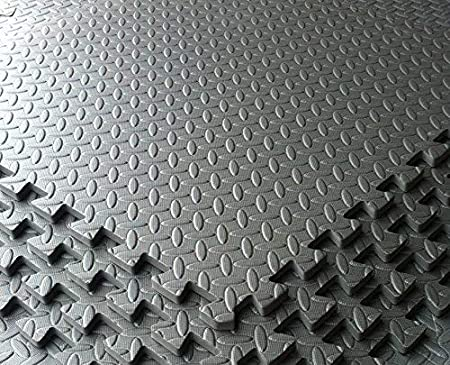 Grigio scuro garage officina showroom schiuma eva mats