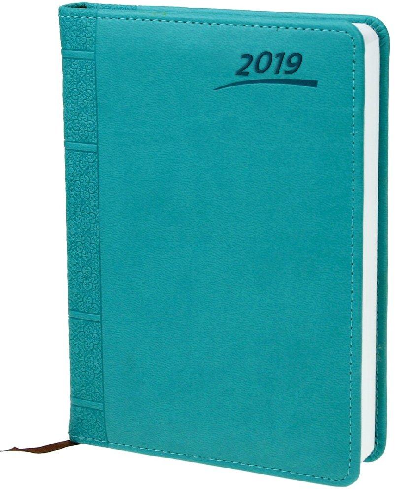 Buchkalender 2019 Aqua A5