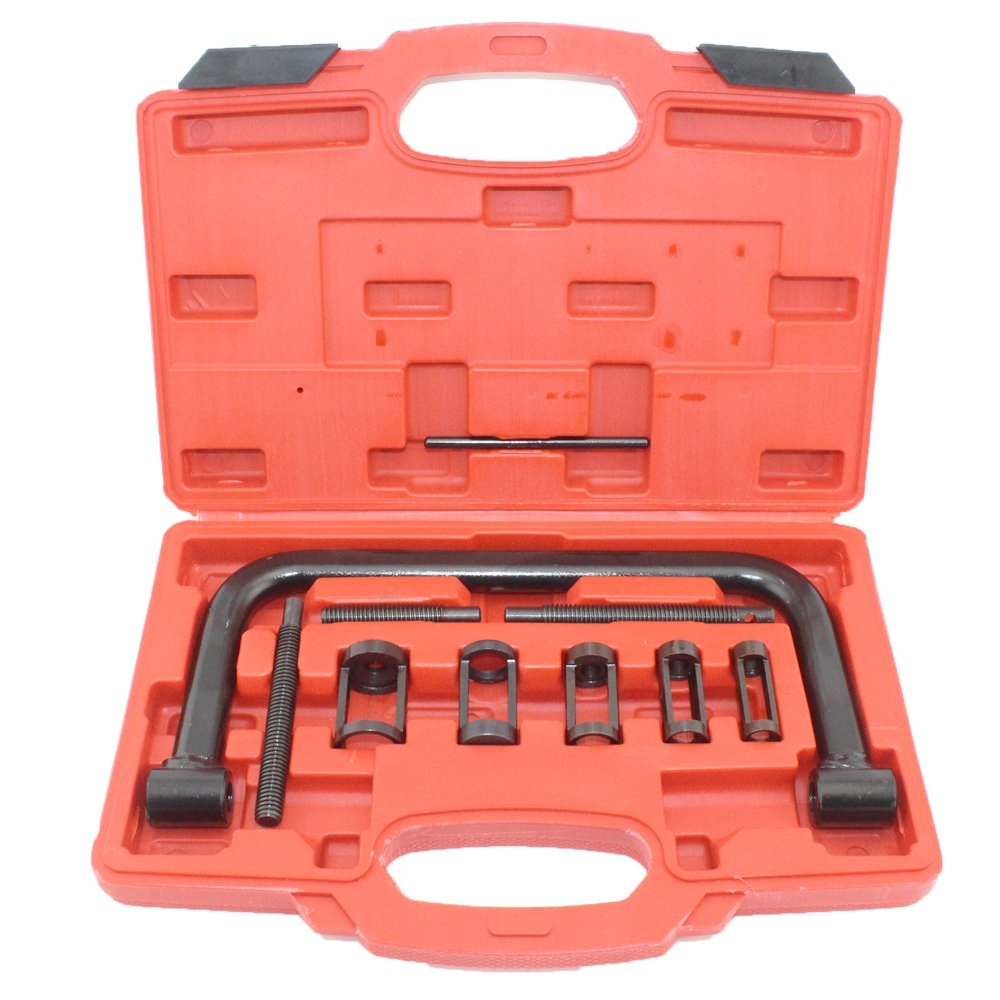 DPL TOOLS 10pcs 5 Size Valve Spring Compressor Removal Tool Kit for Autor & Motorcycle