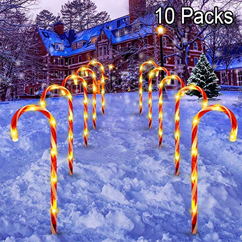 Light Up Candy Cane Outdoor in US - 3