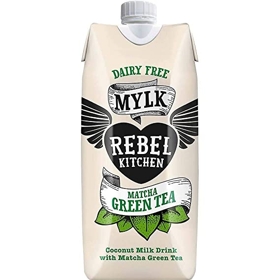 te verde con leche de coco