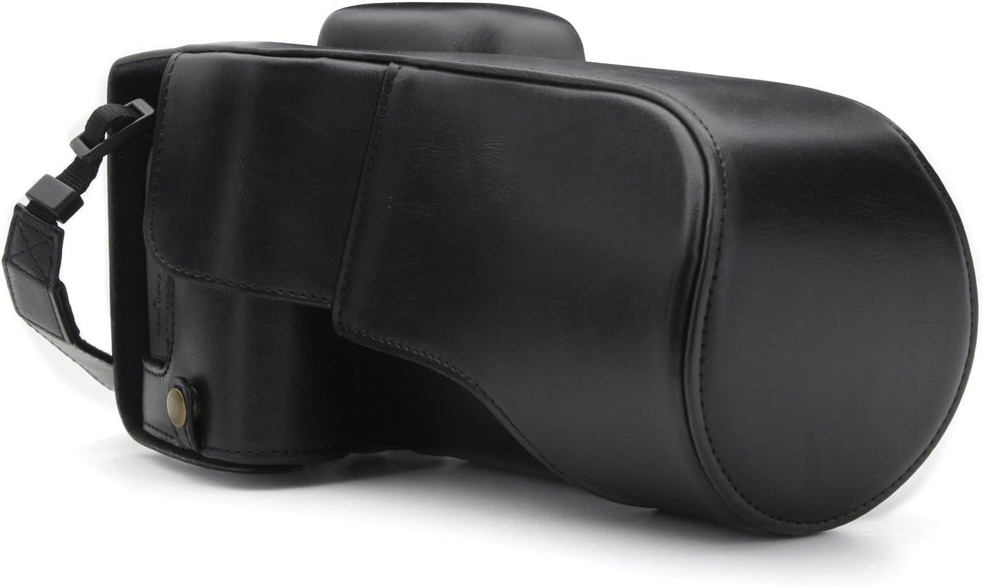 18-135mm 77D 9000D MegaGear Custodia in Ecopelle compatibilie con Canon EOS 800D
