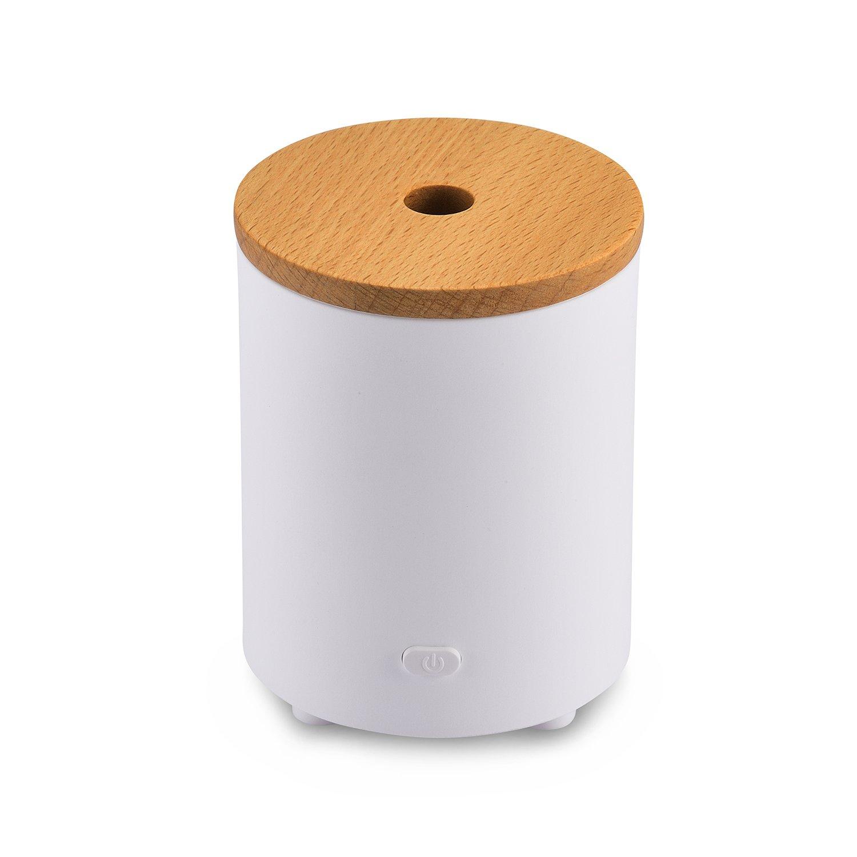 AromaAllure Essential Oil Diffuser, Waterless Portable Mini Oil Diffuser for Car, Office and Closet