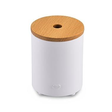 Essential Oil Diffuser, AromaAllure Waterless Portable Mini Oil Diffuser for Car, Office and Closet
