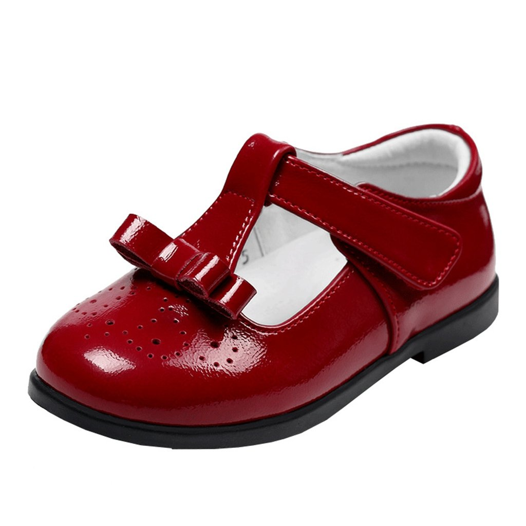 GIY Girls Adorable Ballet Mary Jane Casual Bowknot Slip On Flat Shoes(Toddler/Little Kid/Big Kid)
