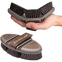 amalon careflex 3190101–Flexible & ergonómica Cepillo para caballos