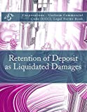 img - for Retention of Deposit as Liquidated Damages: Corporations - Uniform Commercial Code (UCC), Legal Forms Book book / textbook / text book