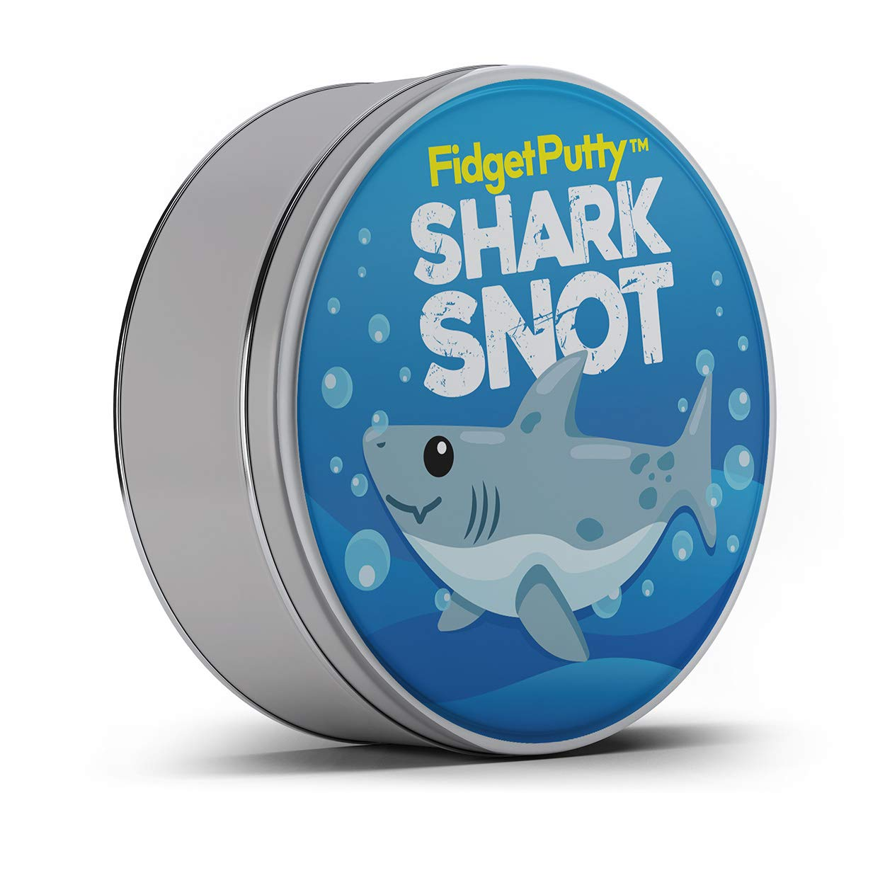 GearsOut Shark Snot Fidget Putty Stress Relief Cool Shark Ideas for Kids Stocking Stuffers for Boys and Girls Weird White Elephant Ideas Fidget Toys Blue Therapy Putty