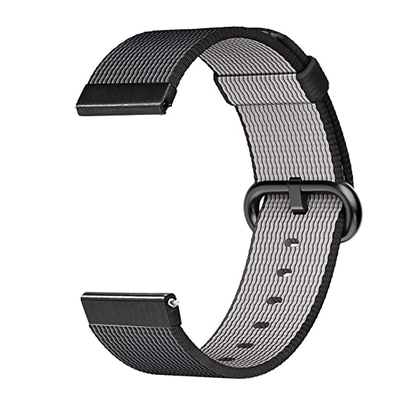 Jewh Colorful Woven Nylon Band - Sport Loop Strap for Garmin Forerunner 645 - Smart Watch