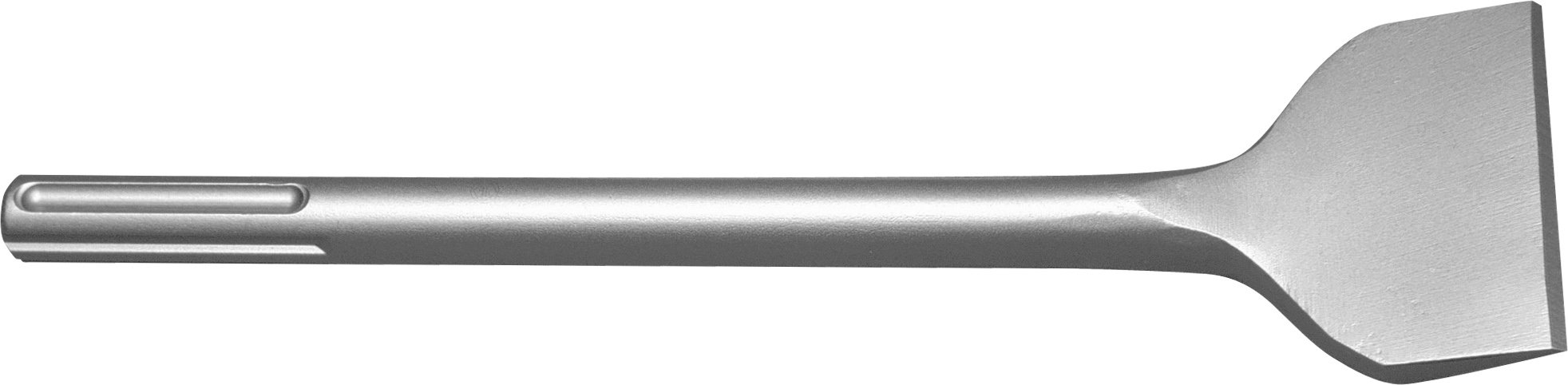 Champion Chisel, 12-Inch Long, 3-Inch Wide Bent SDS-MAX Chisel, Single Bevel