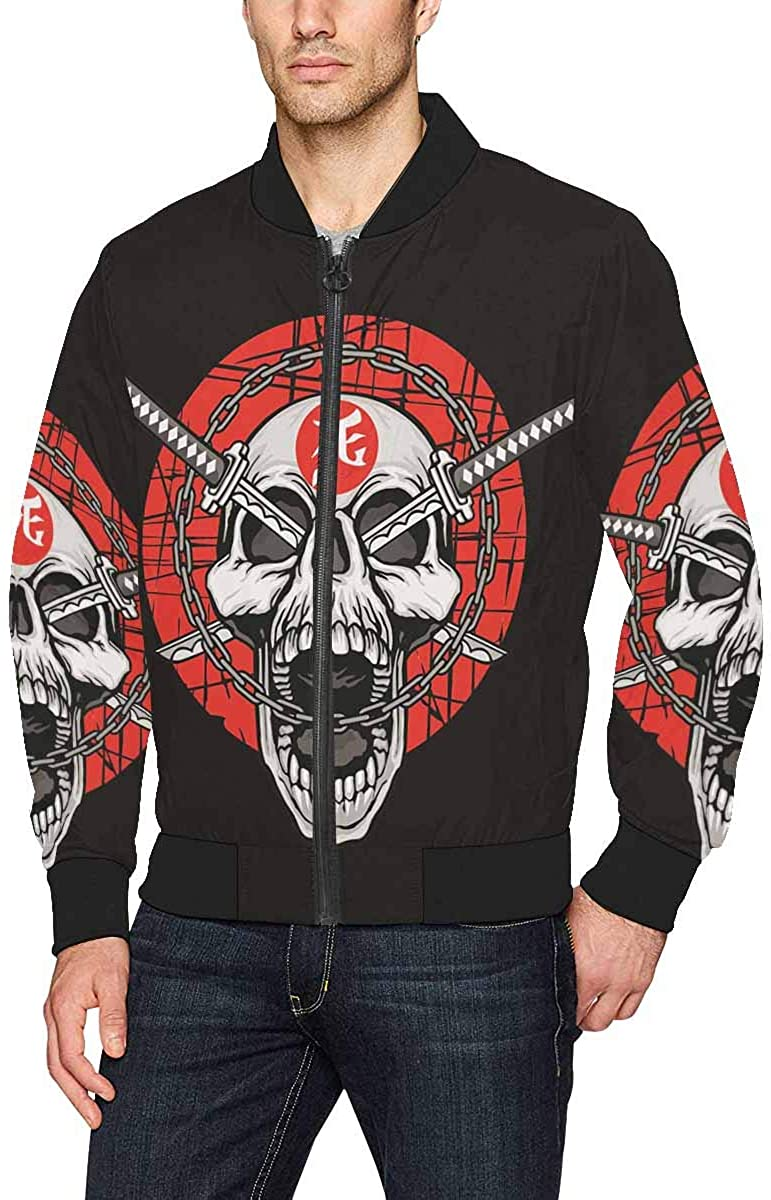 Novelty Design Mens Bomber Jacket Coat