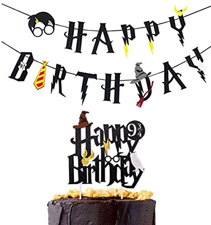 Image Unavailable Not Available For Color Harry Potter Happy Birthday