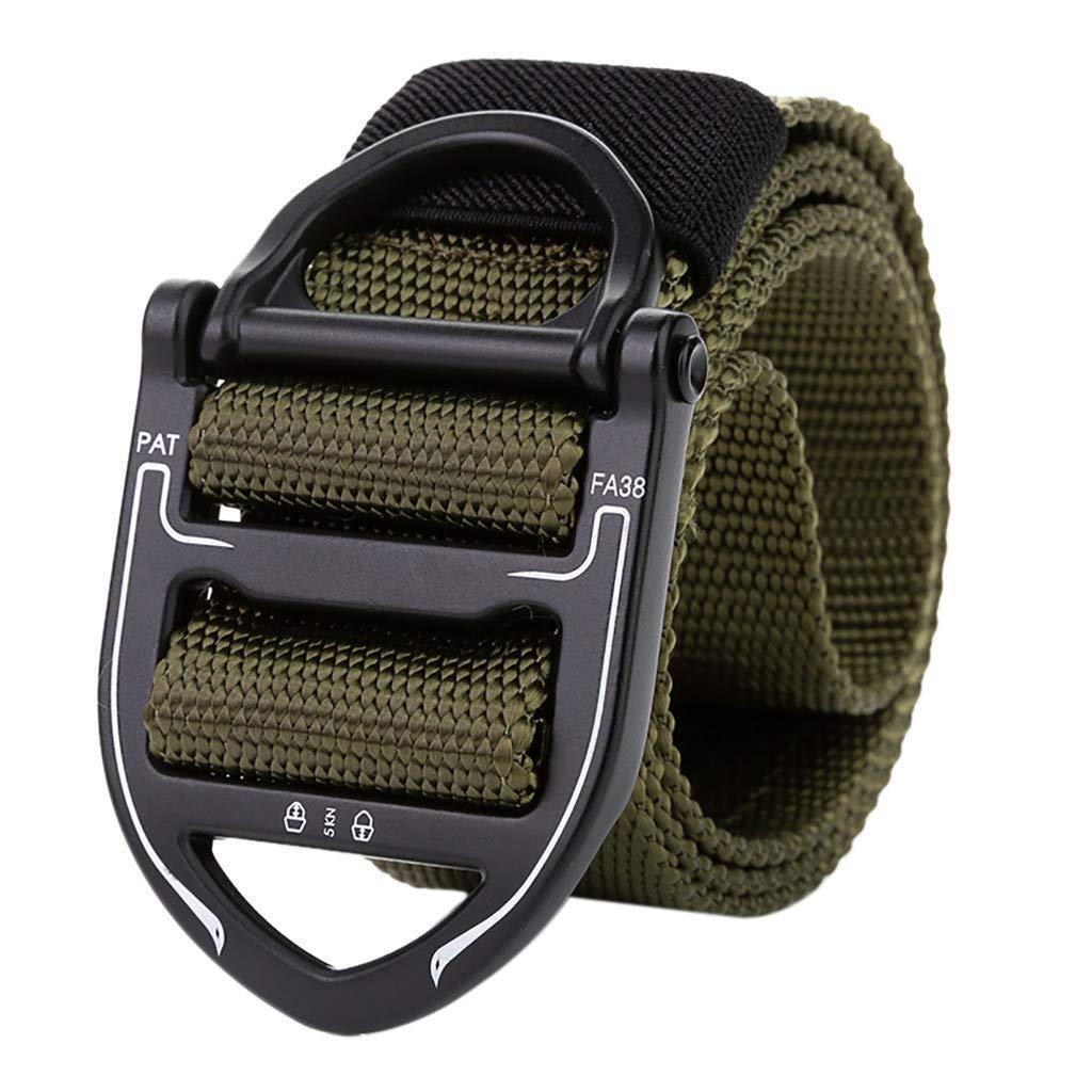 Mens Adjustable Faux Leather Waist Belt Plastic Buckle Metal Free Waistband Soft
