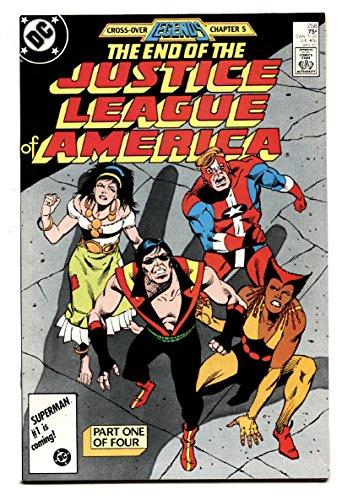Justice League of America #258-1987-JLA Death of VIBE comic book nm-