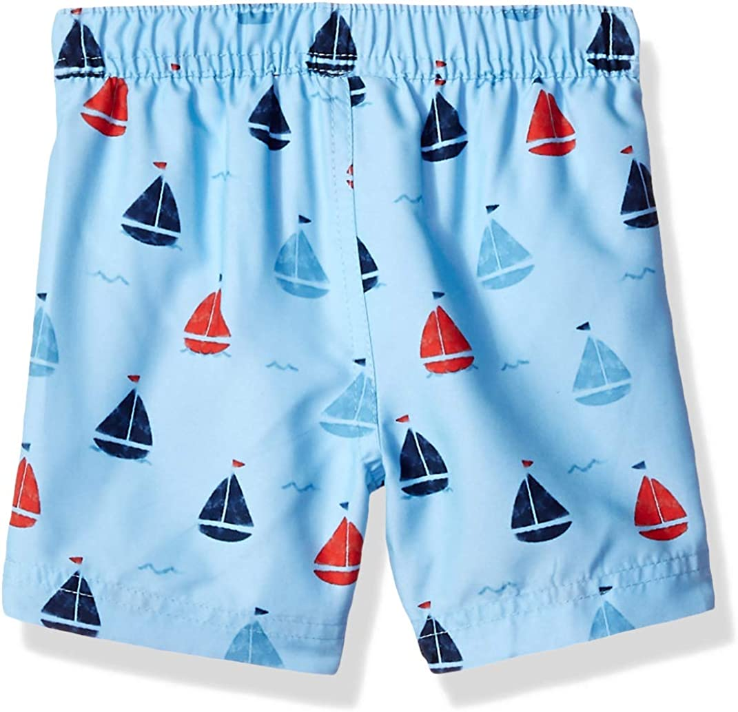 Little Me Childrens Apparel Baby and Toddler Boys Swim Trunks