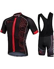 Ropa Ciclismo Verano para Hombre - Cornasee Ciclismo Maillot y Culotte Pantalones Cortos