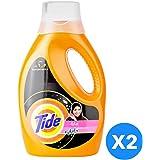 تايد سائل تنظيف اتوماتيك مع برائحة داونى 2 × 1 لتر - عبوة مزدوجة