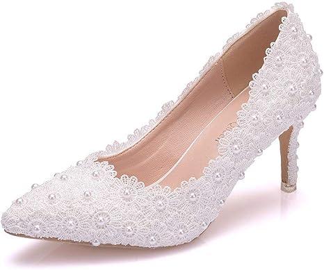 Scarpe Sposa 7 Cm.Jfskd Bridal Scarpe Da Sposa Scarpe Da Sposa Da Donna Sandali Da