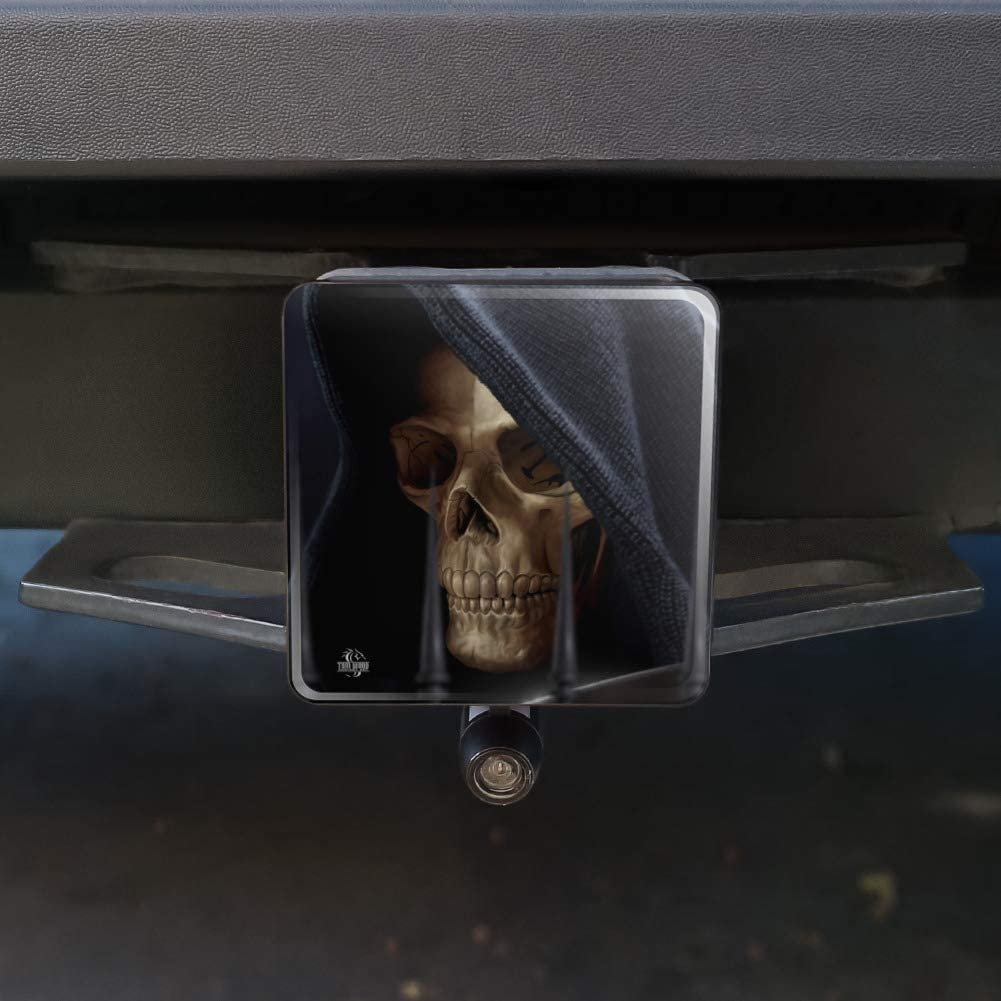 Graphics and More Grim Reaper Dead Death Fantasy Tow Trailer Hitch Cover Plug Insert