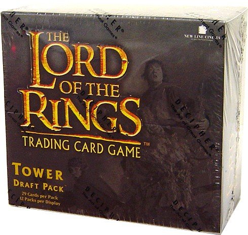 (Lord of the Rings Card Game Tower Draft Pack Booster BOX)