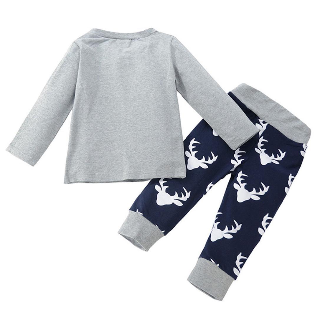 Trouser Outfits Staron 2pcs Infant Clothing Set Suit Big Brother Baby Boy T-Shirt