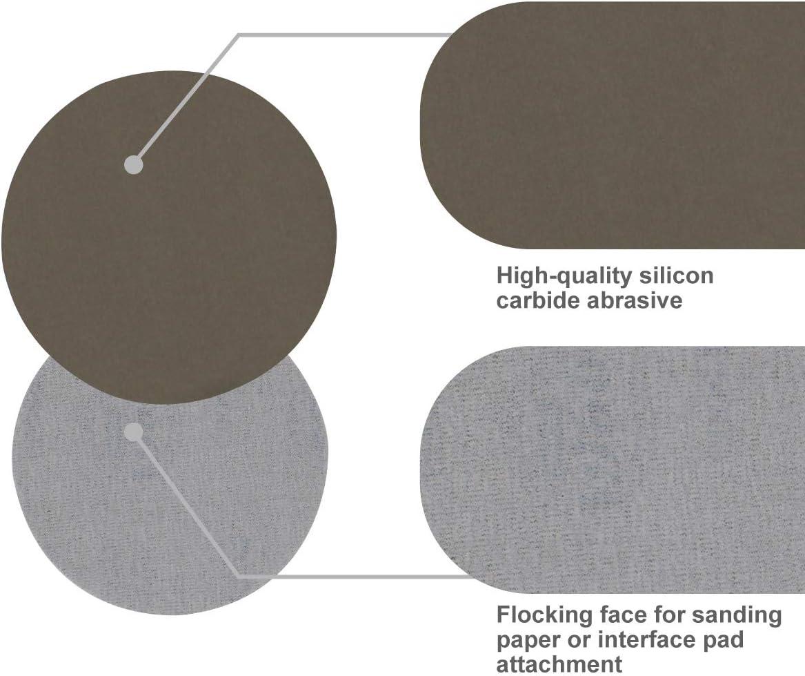 100mm Sanding Discs Pads Polishing Pad Drywall Sanding 1000-5000 Grit Sandpaper