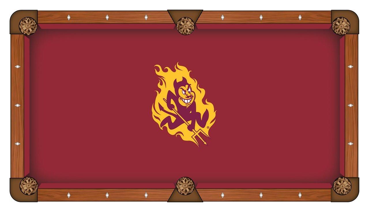 Arizona Stateプールテーブルクロスwith Sparkyロゴ B0096YL6SG
