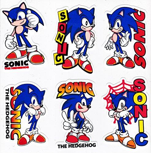 6x Random Super Sonic The Hedgehog Adv Buy Online In Jamaica At Desertcart