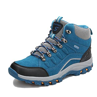 Men High Top Hiking Boots Lightweight Mountain Spring And Autumn