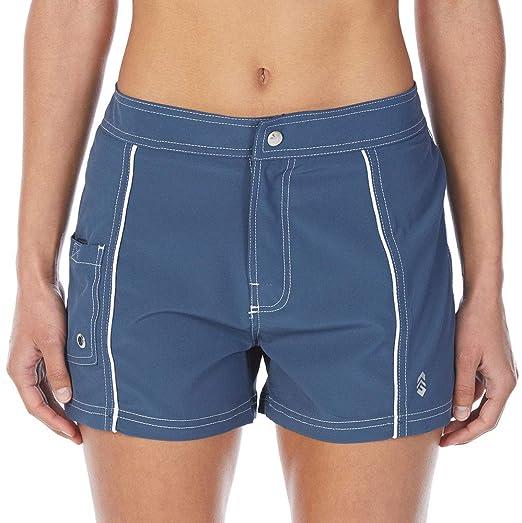 a89eb7f7303 Amazon.com: Free Country Women's Woven Swim Shorts: Clothing