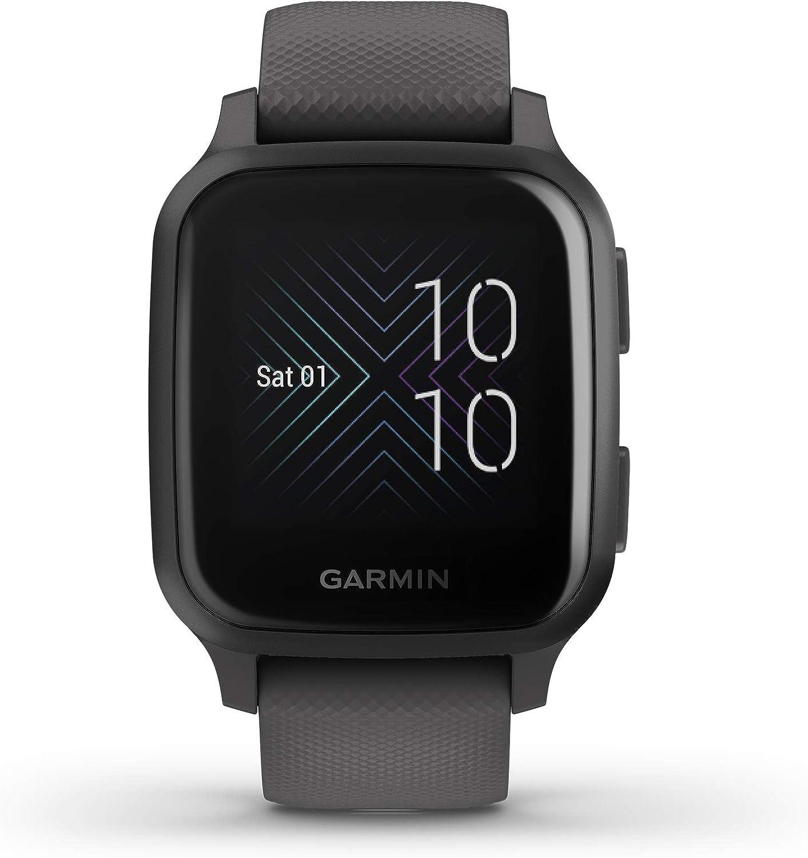 Garmin Venu Sq, Reloj Inteligente con GPS - Gris
