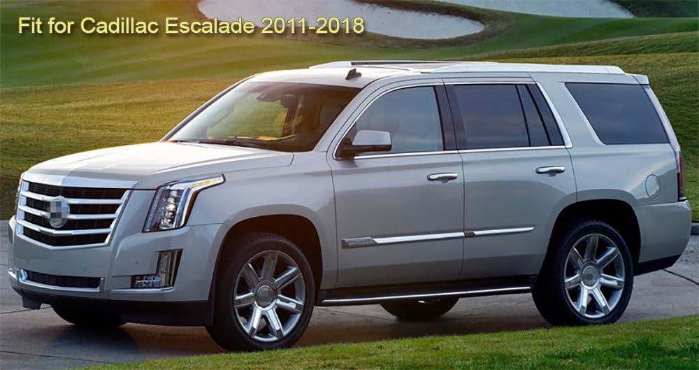SPEEDLONG 4Pcs Car Mud Flaps Splash Guard Fender Mudguard Black for Cadillac Escalade 2011-2018