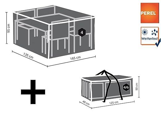 Plane wasserdicht Schutzhülle M Abdeckung rechteckig 185x150cm für Gartenmöbel