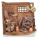 Holyart Neapolitan Nativity scene accessory, farmer shop