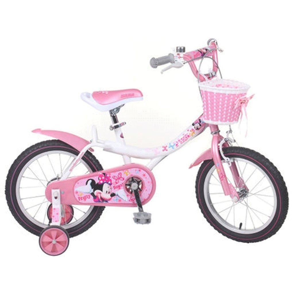 自転車 子供の自転車の女の子12/14/16インチの赤ちゃんのキャリッジ3-6歳の赤ちゃんの自転車の女性の自転車 (色 : 18inch) B07DPPV6C818inch