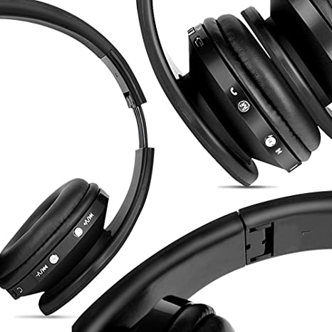 abc0cb6168a FX-Victoria Bluetooth Headset over Ear Headphone, Built in Microphone and  Volume Control,
