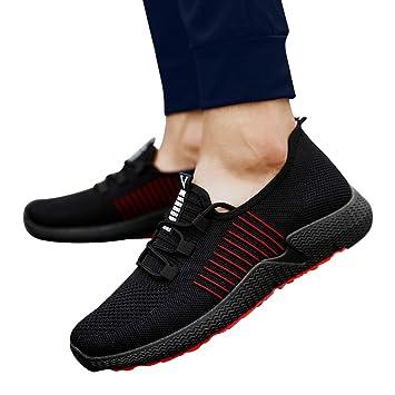 Sonnena Zapatos para Corror Mujer Zapatillas de Deportiva Slip on Huecos Sneakers para Caminar Walking Calzado Malla Transpirables Loafer Ligeros Mocasines ...