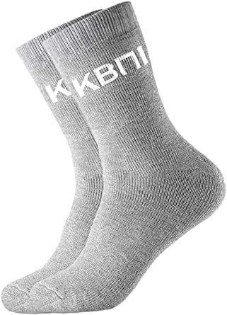 KBNI Mens Extra Thick Cushion Heavy Duty Premium Bamboo Work Socks
